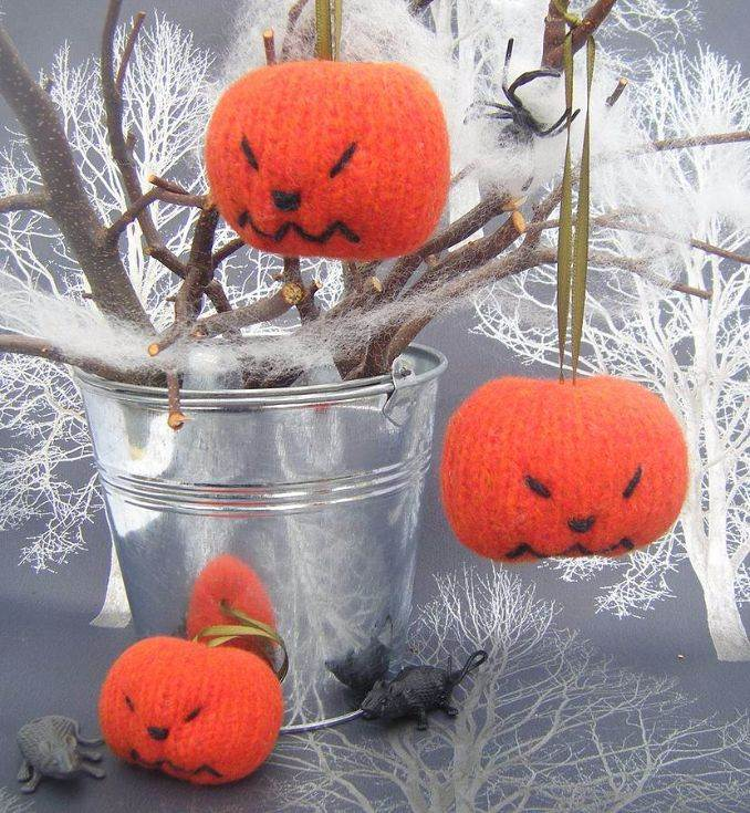 Spooky Pumpkin Halloween Decoration