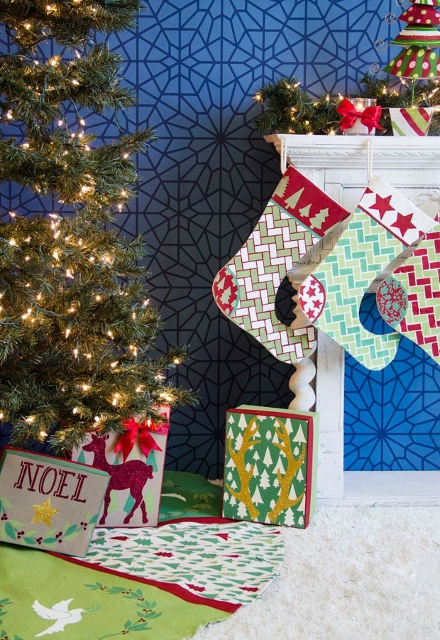 christmas-decorations-crafts-with-stencils