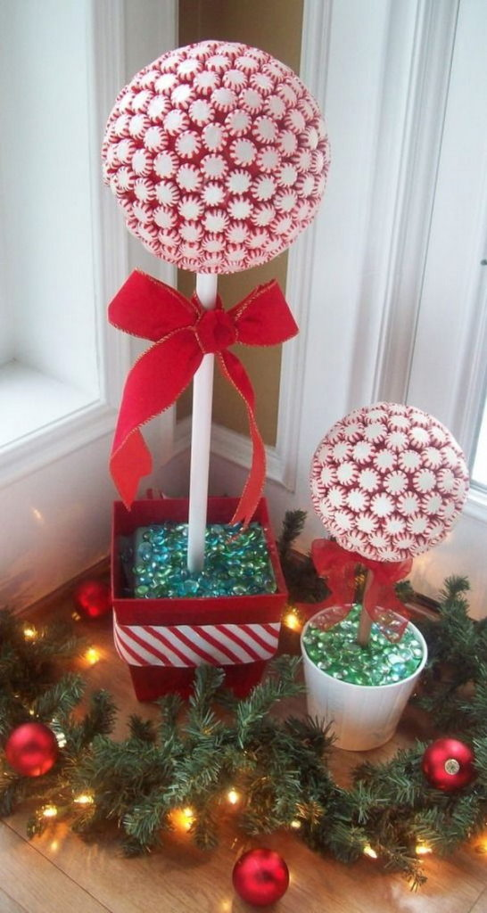 peppermint-candy-topiaries
