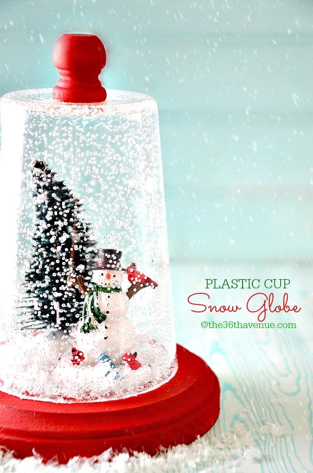 plastic-cup-snow-globe