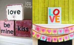 20 Cute Homemade Valentines Decorations