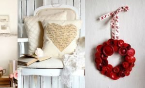 41 Fresh Shabby Chic Valentine's Decorations