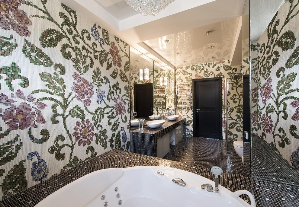 Eclectic Master Bathroom