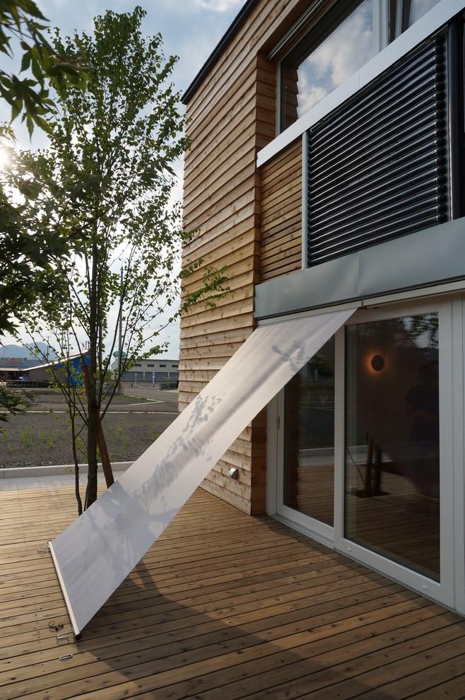 Industrial Backyard Deck Design