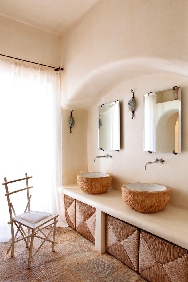 Mediterranean Master Bathroom