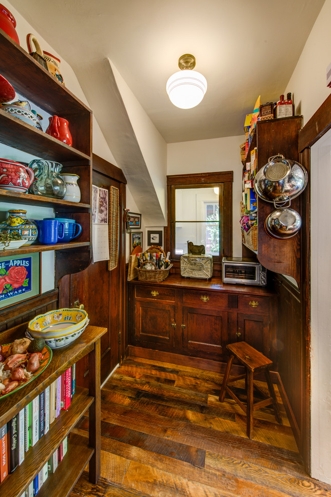 Small Craftsman Style Kitchen