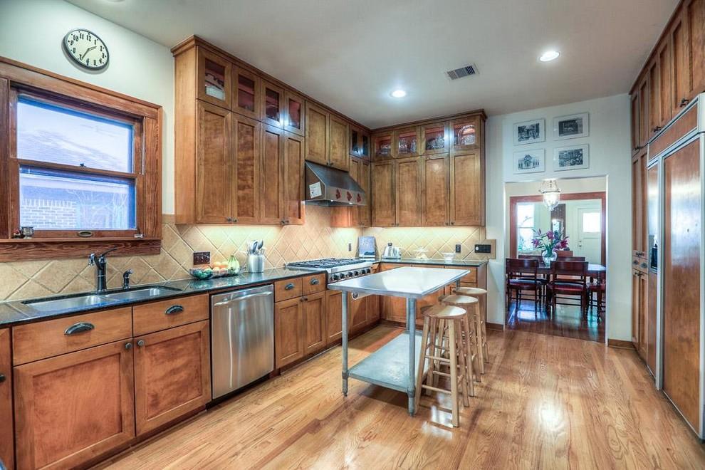 Craftsman Kitchen Pantry Design