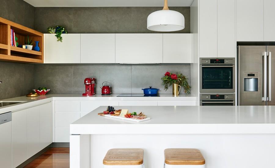 l-shaped Open Concept Kitchen