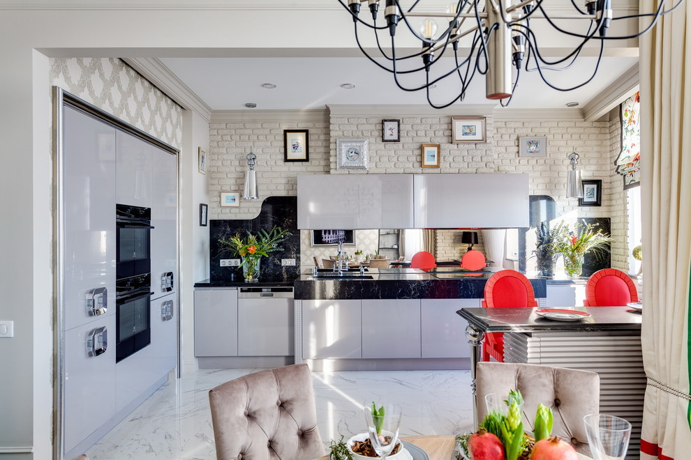 Eclectic Eat-In Kitchen