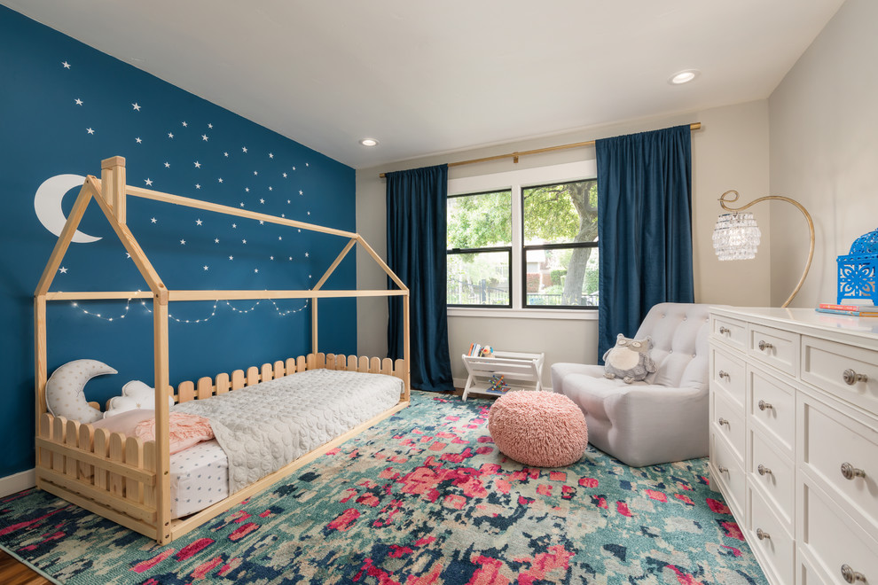 Luxurious Transitional Kids Bedroom