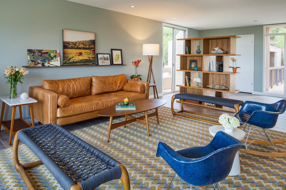 Midcentury Living Room Rug
