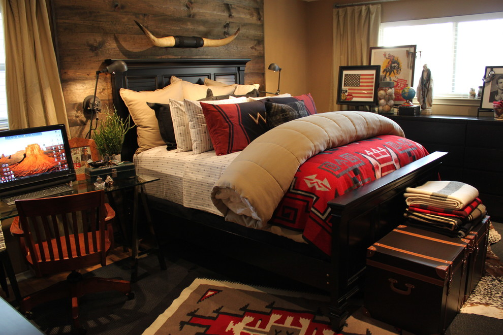 Southwestern Master Bedroom
