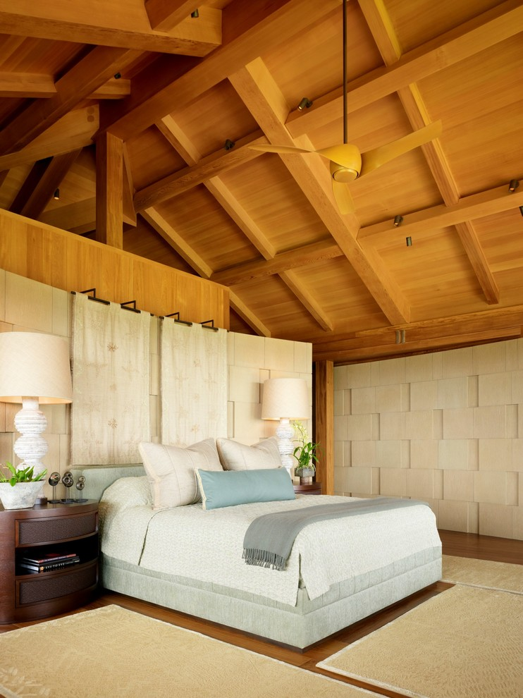 Tropical Master Bedroom