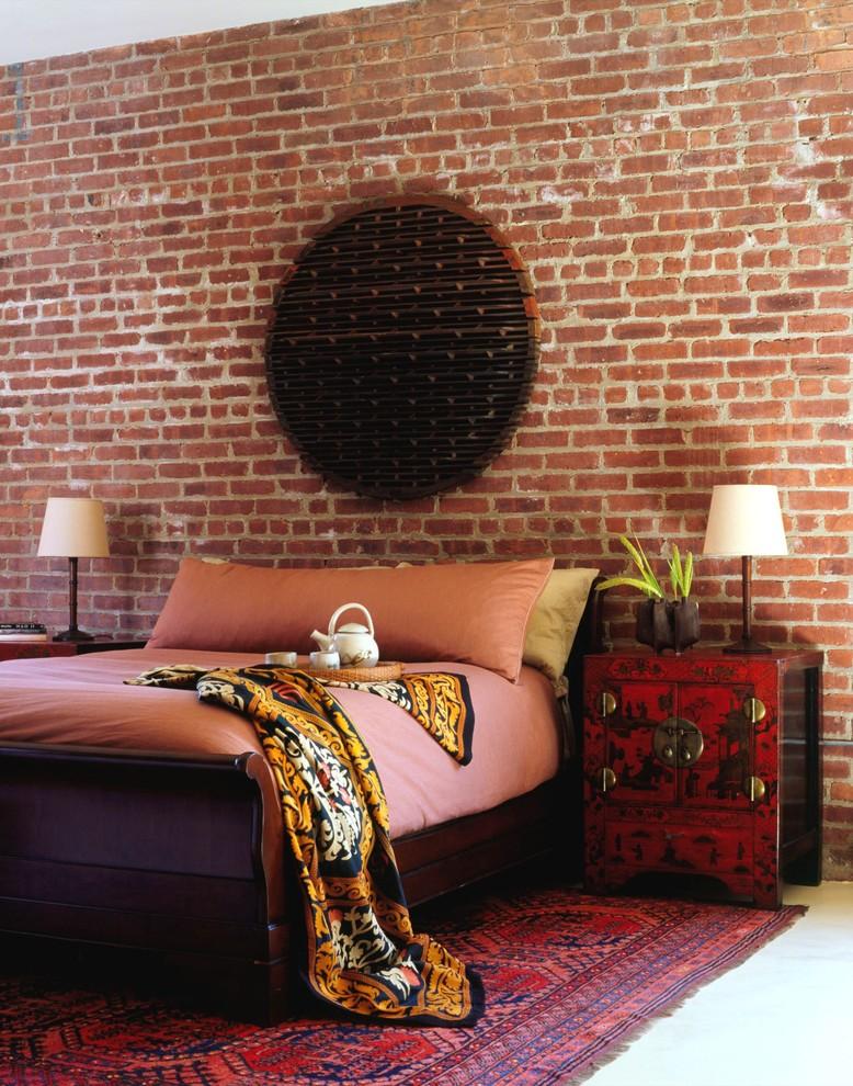Brick-design-industrial-bedroom