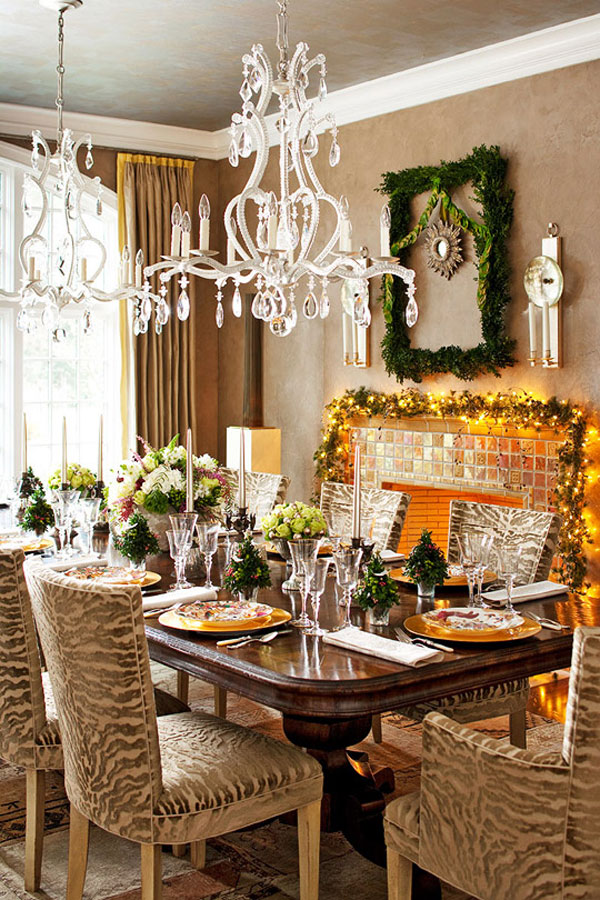 Christmas Dining Room Table Ideas
