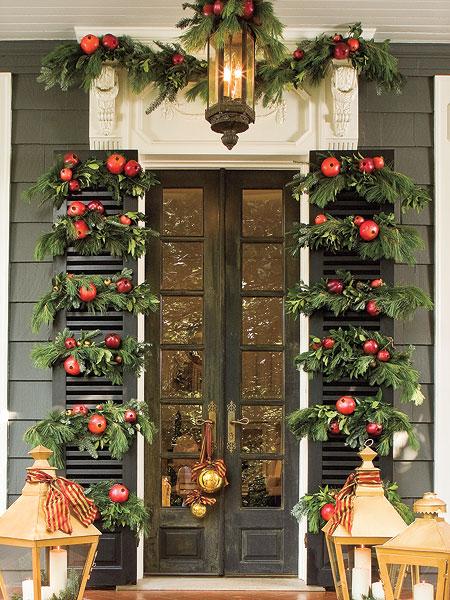 Christmas Holiday Door Decorations