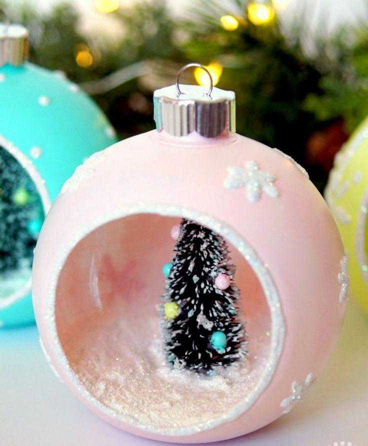 DIY Vintage Christmas Craft Ornaments