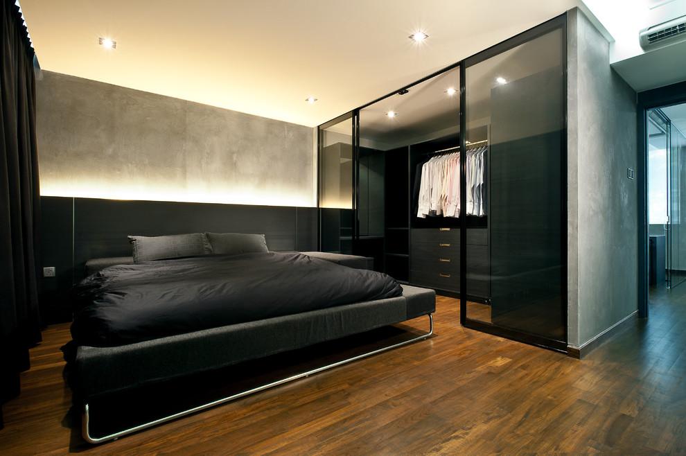 Dark-industrial-bedroom