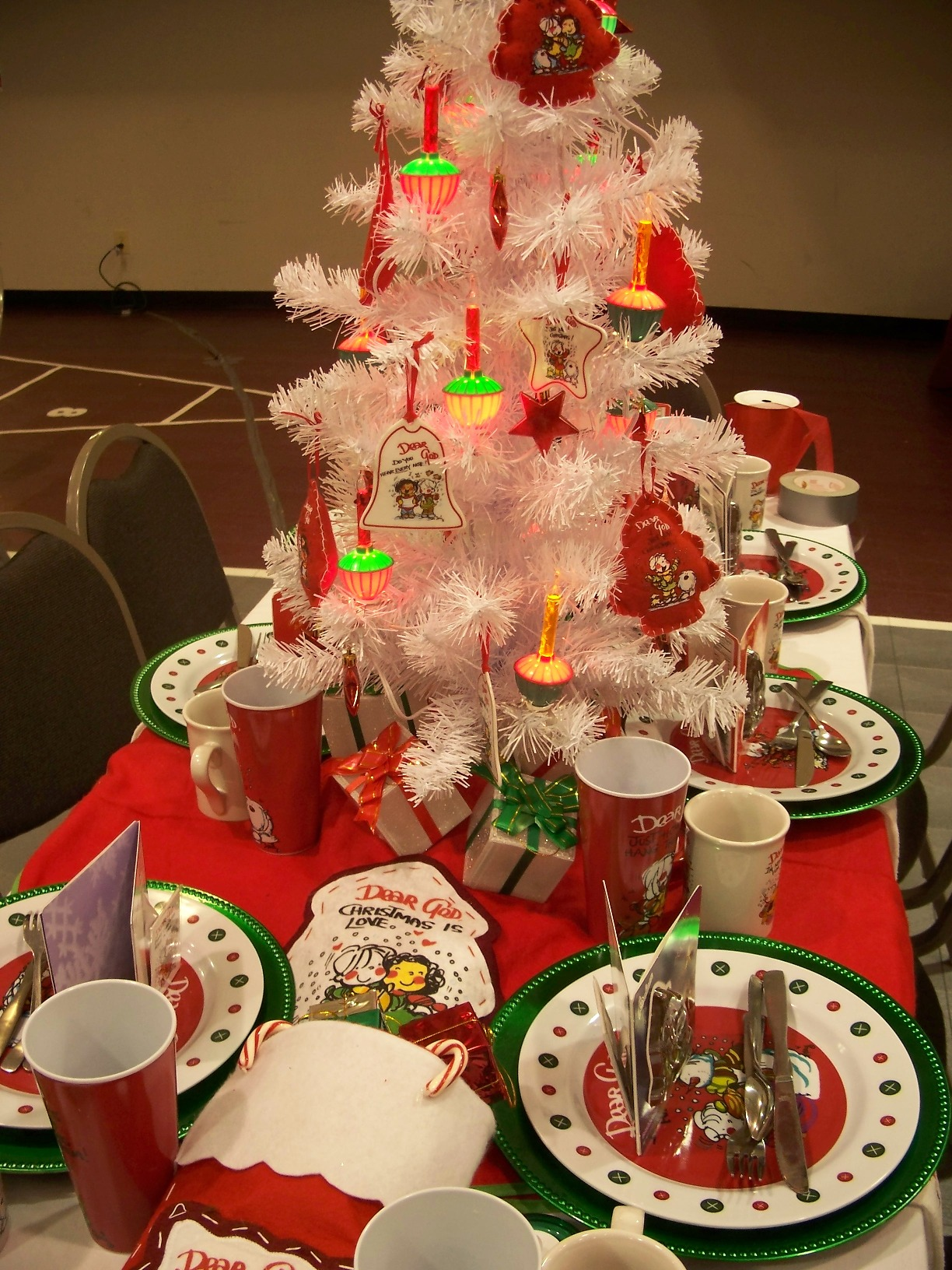 Christmas Party Table Decorations Centerpieces Ideas
