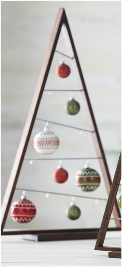 DIY Ornament Display Tree