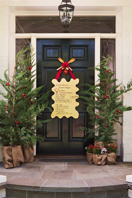 Front Door Christmas Decor Ideas