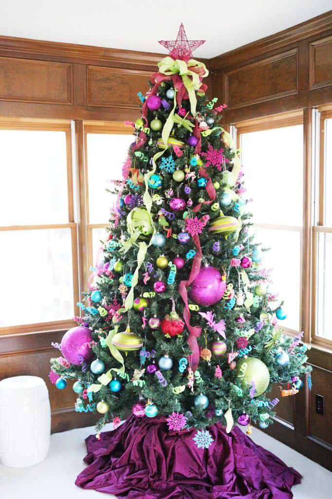 Colorful Christmas Tree Ideas.30 Best Christmas Tree Decoration Ideas Wow Decor