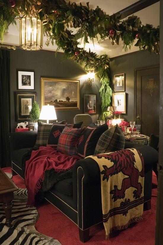 Christmas Living Room Decor Ideas (14)