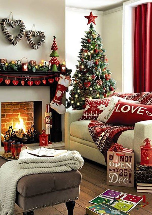 Christmas Living Room Decor Ideas (41)