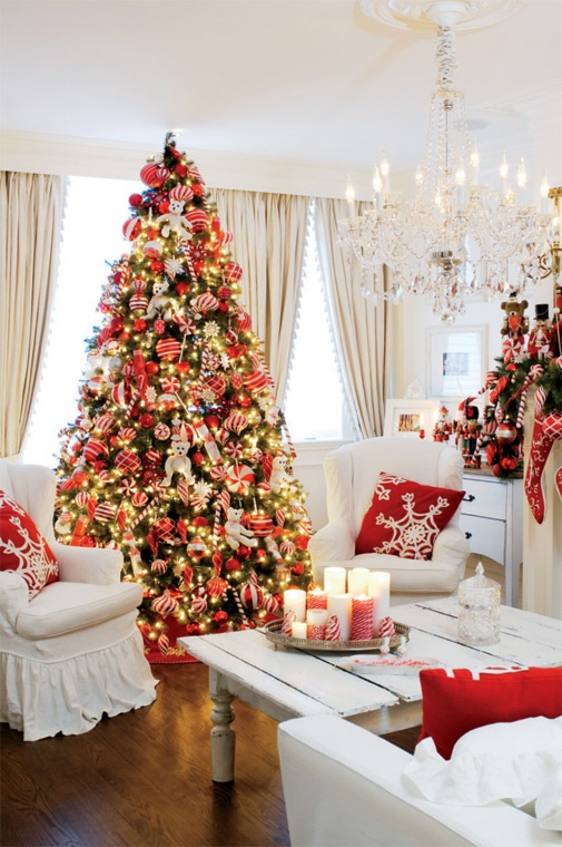Christmas Living Room Decor Ideas (45)