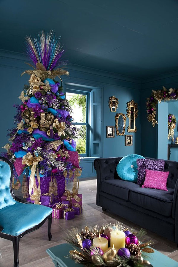Christmas Living Room Decor Ideas (7)
