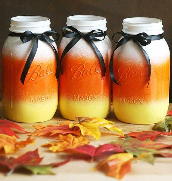 Craft Ideas for Using Mason Jars for Halloween