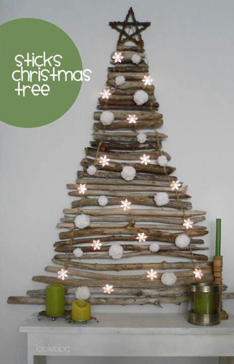 DIY Christmas Wall Art Ideas Thewowdecor (25)