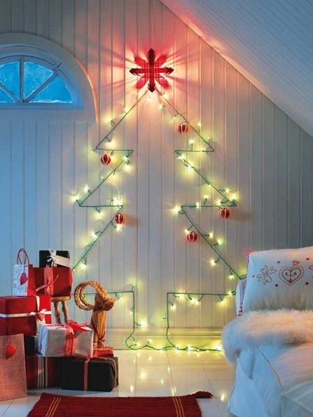 DIY Christmas Wall Art Ideas Thewowdecor (3)