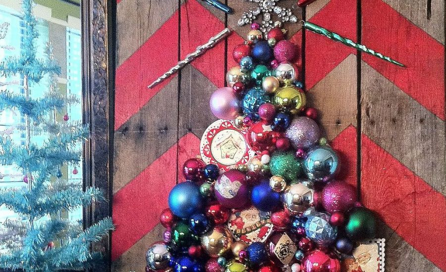 DIY Christmas Wall Art Ideas Thewowdecor (32)