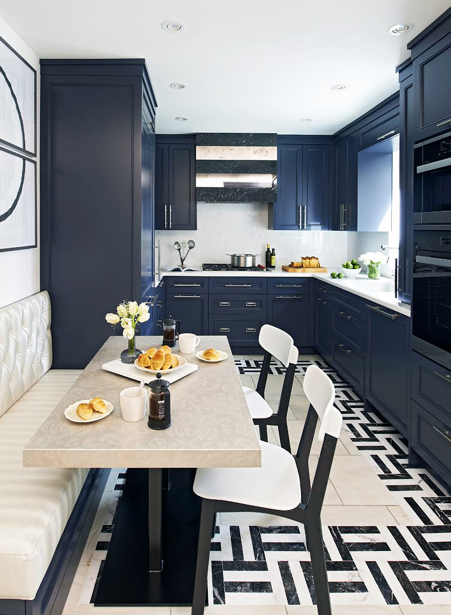 Galley Style Eat in Kitchen