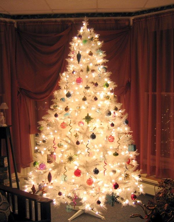 Glowy Christmas Tree Decoration Thewowdecor