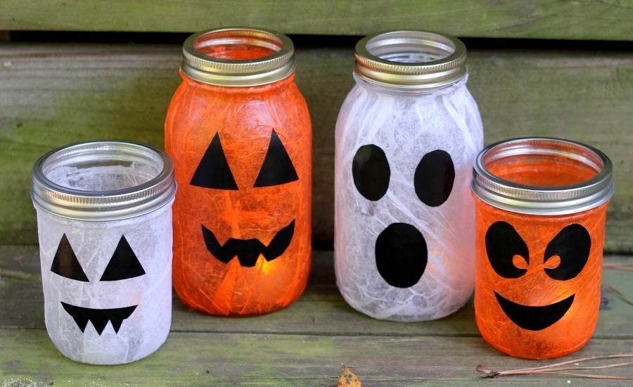 Ideas-For-Halloween-Decorations-Mason-Jars
