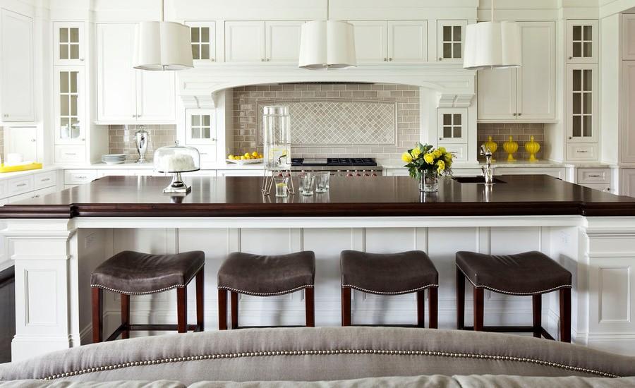 Large Transitional Kitchen Design