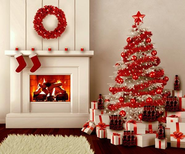 Red Christmas Tree Decoration Thewowdecor