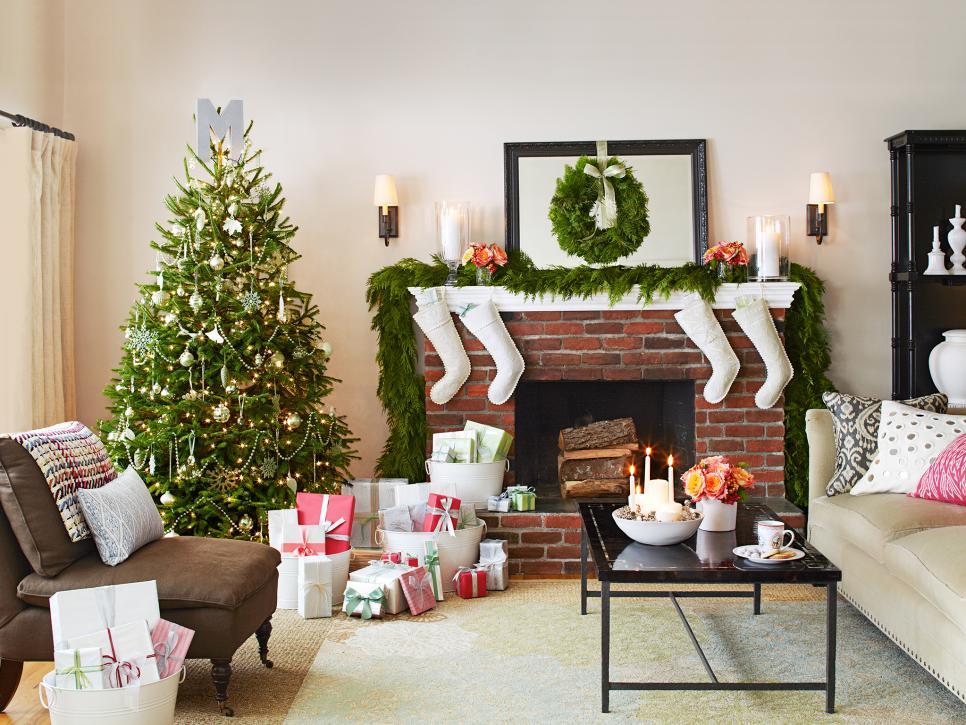 Christmas Living Room Decor Ideas thewowdecor (1)