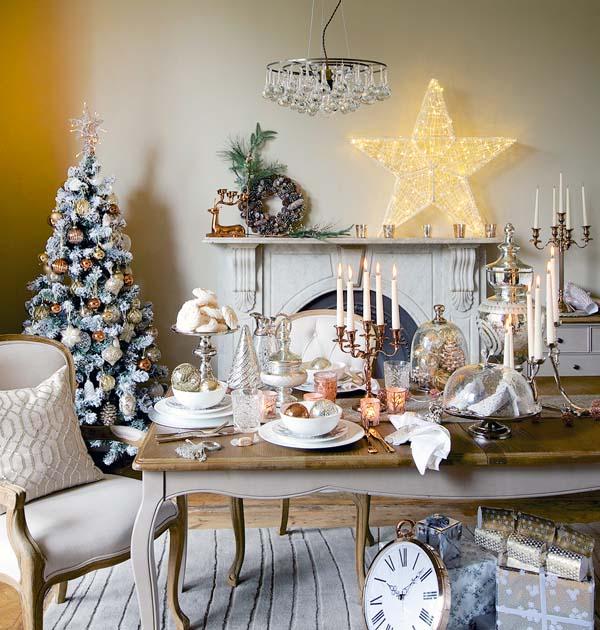 Christmas Living Room Decor Ideas thewowdecor (13)
