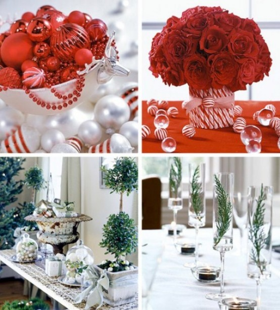 Christmas Table Centerpiece Ideas thewowdecor (10)