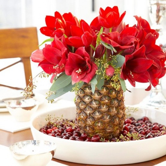 Christmas Table Centerpiece Ideas thewowdecor (13)