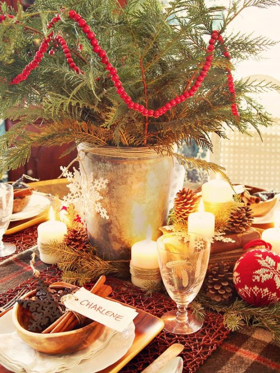 Christmas Table Centerpiece Ideas thewowdecor (2)