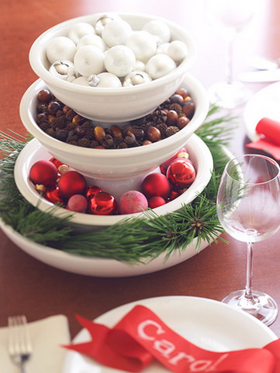 Christmas Table Centerpiece Ideas thewowdecor (20)