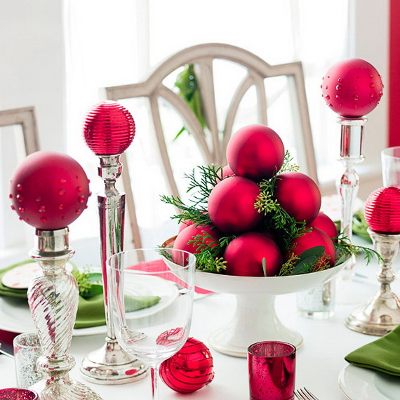 Christmas Table Centerpiece Ideas thewowdecor (21)