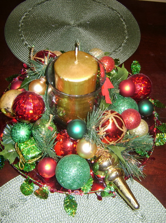 Christmas Table Centerpiece Ideas thewowdecor (27)