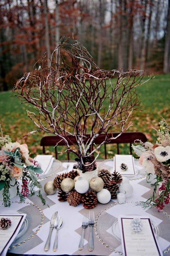 Christmas Table Centerpiece Ideas thewowdecor (35)