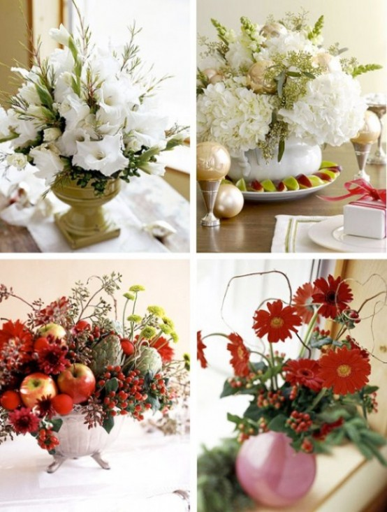 Christmas Table Centerpiece Ideas thewowdecor (6)