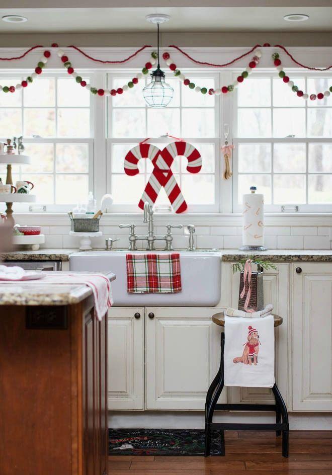 Farmhouse christmas kitchen ideas